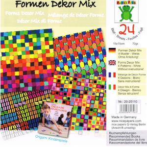 Block Pattern Paper
