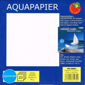 Aquapaper 20 Sheets 20cm Water Resistant Paper