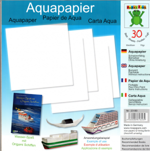 Aquapaper 30 Sheets 30cm Water Resistant Paper