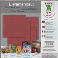 32 Sheets 20cm Elephant Hide Origami Paper