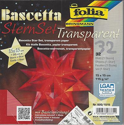 Origami (Bascetta Star) Kit 15cm