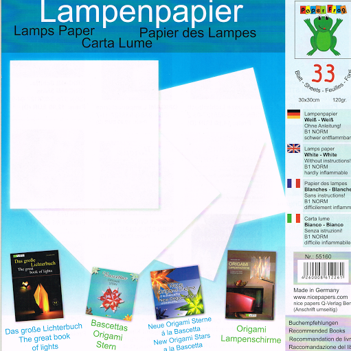 Lamp Paper (plain white)