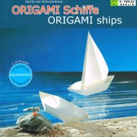 Origami Craft Kit Ships Instruction Book Complete with 20 and 30cm Paper-Special Offer