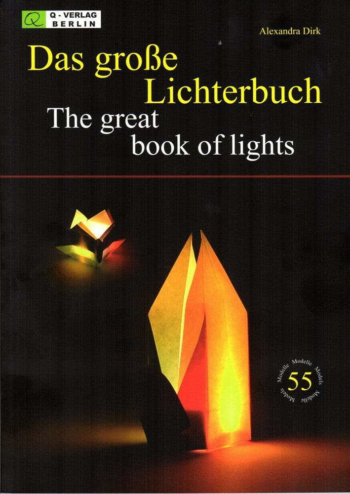 Great Book of Lights Complete with 30 sheets 30cm 'Lamp Paper'