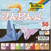 50 Sheets 15cm Origami Paper JAPAN by Folia