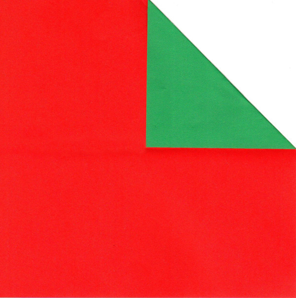 80 Sheets Red and Green Double Sided Paper for Christmas