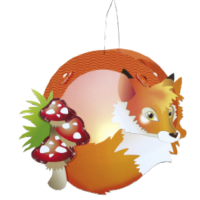 Children's Lantern Kit-Fox