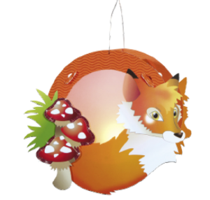 Children's Lantern Kit-Fox
