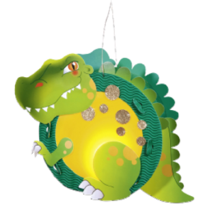 Children's Lantern Kit-T-Rex