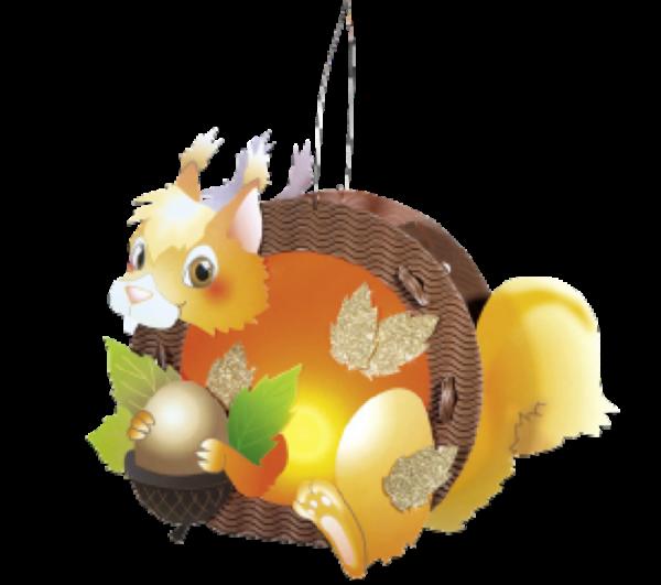 Children's Lantern Kit-Squirrel