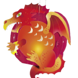Children's Lantern Kit-Dragon