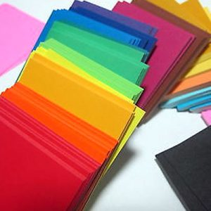 Papers in Solid Colours