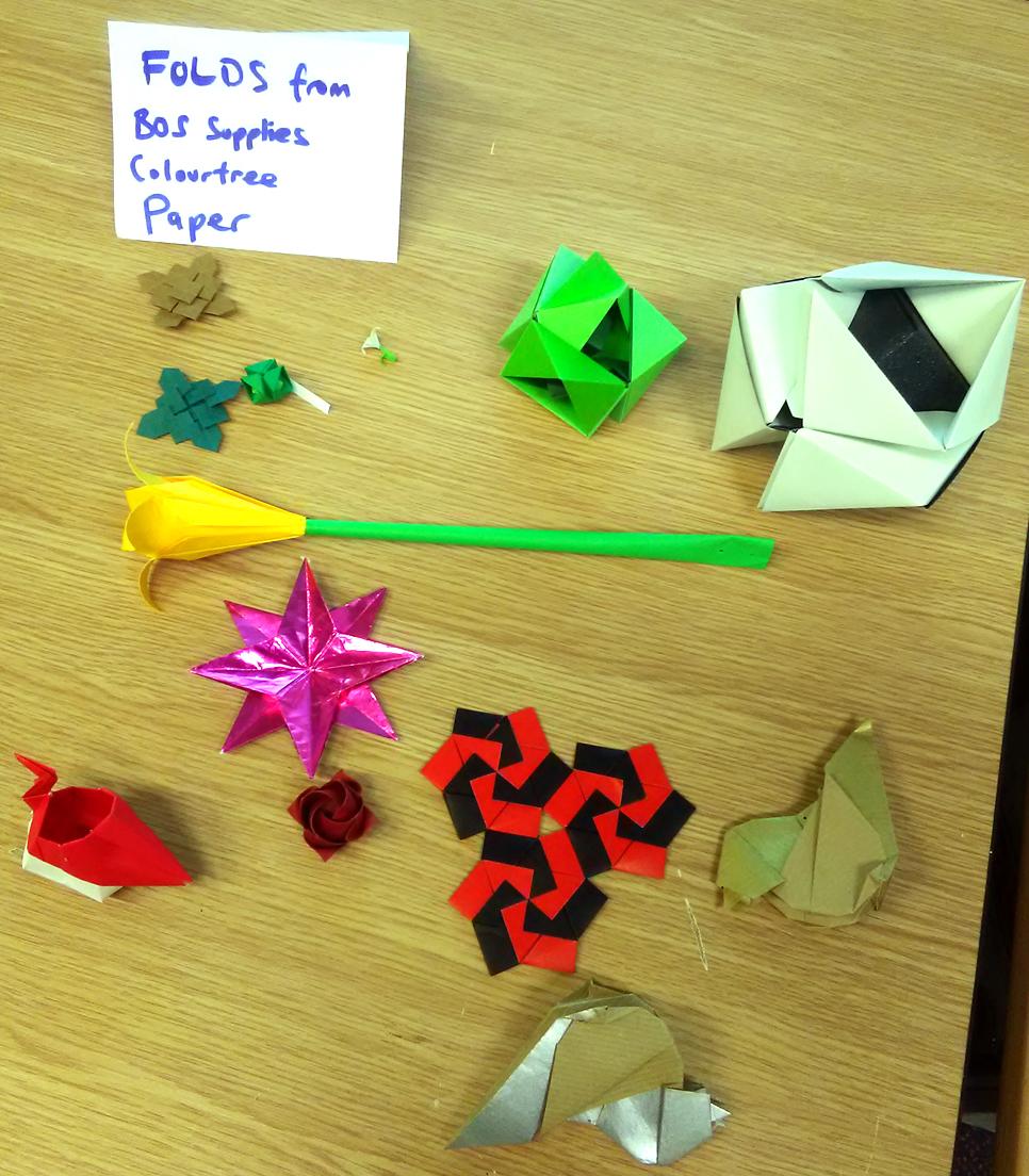 British Origami Soc on | Geometric origami, Origami geometric ... | 1104x966